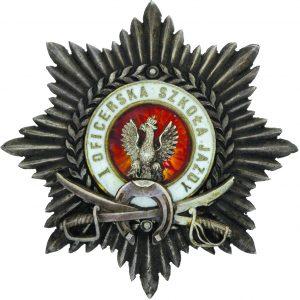 Odznaka pamiątkowa Oficerskiej Szkoły Jazdy nr 1