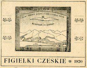 Figielki Czeskie - ulotka propagandowa