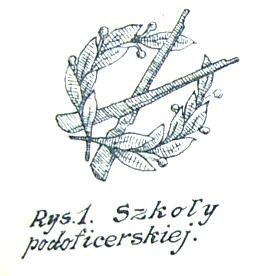 Oznaka szkół podoficerskich wz. 1919