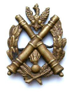 oznaka szkół podoficerskich artylerii