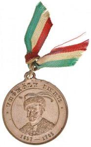 medalik pamiątkowy Imre Tököliego