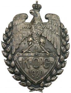 Odznaka kursów oficerów gospodarczych